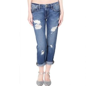 Frame le grand garcon inglewood distressed jeans